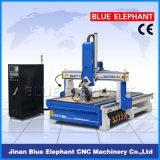 Máquina de talla de madera del CNC del eje Ele1530-4 para los muebles de madera, MDF, PVC, PWB, de acrílico