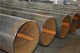 La pipe en acier est 3PE enduite a vu la pipe en acier