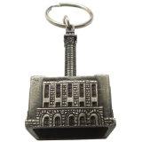 Promotion를 위한 주문을 받아서 만들어진 3D Antique Brass Keychain