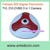 Saída video infravermelha panorâmico 3 da câmera HD-Cvi/Tvi/Cvbs da abóbada em 1 câmera híbrida do CCTV