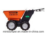 Ce Certificate Battery Power Barrow / Electric Battery Mini Dumper com sistema 4WD para uso em mineração