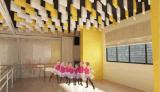 Nuovo disegno di alluminio del soffitto del deflettore