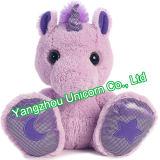 Brinquedo macio do luxuoso do unicórnio do animal enchido do presente do bebê EN71