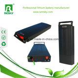Het achter Pak van de Batterij Accu van Li van het Rek 250W Ionen8ah 36V voor Ebike met Achterlichten