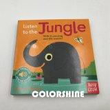 Alto libro de discurso sano de la tarjeta de la impresión del niño de la calidad