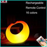 Flameless LEDは電気遠隔再充電可能の良否を明りにすかして調べる