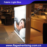 새로운 광고 알루미늄 LED 직물 가벼운 상자 게시판의 중국 공급자