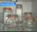 熱い販売の記憶の瓶のガラスビンはとの浮彫りになる