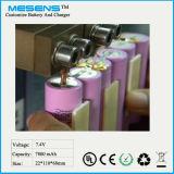 Nachladbare Li-Ionbatterie für elektronische Produkte mit CER, RoHS Bescheinigung 7.2V 7800mAh
