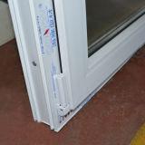 White Color UPVC Profile Intérieur Inclinaison et Vitesse de rotation K02024