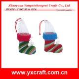 Празднество рождества ботинка еды рождества хранения украшения рождества украшения рождества (ZY14Y187-1-2-3) пластичное
