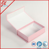 Elegant rosado Hard Paper Gift Boxes, Packaging Box con Magnet