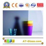 o ácido de 2~19mm gravou o vidro geado de vidro