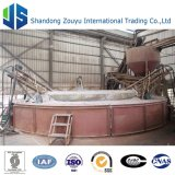 Cadena de producción de la manta de la fibra de cerámica de la salida 3000t 128kg/M3