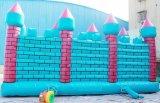 Infatable Trampoline-aufblasbarer Prahler 9 in 1 Überbrückungsdraht Caslte Schlag-Haus