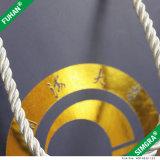 Niza bolsa de papel de sellado caliente modificada para requisitos particulares de embalaje de la maneta