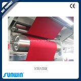 デニムファブリック熱気の熱の設定プロセスStenter機械