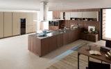 Gabinetes de cozinha do PVC do MDF da melamina de Pólo (zg-005)