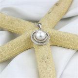 大きいLuxery 925の純銀製の真珠のペンダント