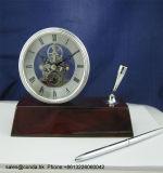 De met de hand gemaakte Speciale Klok K8044A van de Lijst van de Ambacht van de Manier Houten