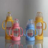 alimentador do bebê de 2oz 60ml PP e frasco de bebê do vidro