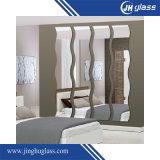 De moderne Zilveren Spiegel van de Spiegel van de Badkamers van de Stijl