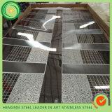 Piatto decorativo dell'acciaio inossidabile acquaforte di marmo 304 dello strato 201 dell'acciaio inossidabile di architettura di progetto del metallo da Hermessteel