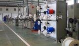 Equipo de fibra óptica para la extrusión de tubos sueltos