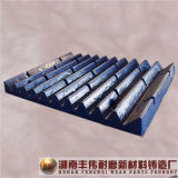 Altas piezas del desgaste de la placa de la palanca de la trituradora de la explotación minera del manganeso