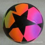 Le PVC joue le football gonflable Playball de jouet de pulseur d'arc-en-ciel d'impression de couleur