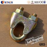 Takelung-Hardware galvanisierter Stahldrahtseil-Klipp