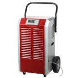 90L/Day de draagbare Lucht Dehmidifier van het Ontvochtigingstoestel van de Kelderverdieping met Groot Wielen en Houvast