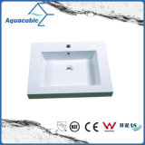 Lavabo bianco di Luxry Polymarble