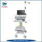 Medizinische Krankenpflege-Behandlung-Karre im Krankenhaus