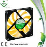 ventilador plástico quente dos ventiladores de refrigeração 2016 da C.C. de 80*80*10mm feito em China