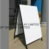 Metal a Frame Signs / Display a Board Publicité Banner Signes Board Display Stand Advertising Equipment Signe de circulation Signature extérieure