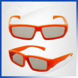 OEM Plastic Polarized Digital Cinema & Polarized 3DTV 3D Glasses van de fabriek voor Kids
