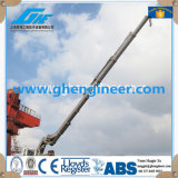 2.5t22m Hydraulic Knuckle Boom Slewing Marine Ship Deck Crane