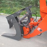 Log Grapple Fork를 가진 Zl20 Wheel Loader
