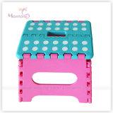 23*19*19cm Sturdy Plastic Foldable Stool per Easy Storage