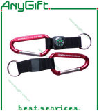 Customized Color (LAG-KC-05)를 가진 Lanyard를 가진 Carabiner