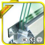 Vidrio aislado E bajo de la pared de cortina (Weihua-Tu-IG001)