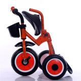 2016人の後部バスケットが付いている最新のモデルFoldable子供の三輪車