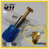 No estándar de herramientas de corte CNC con ranuras en T de acero para herramientas de corte