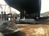 Jinzheng fêz a bolsa a ar de borracha marinha para o lançamento do navio