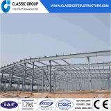 Atelier/entrepôt préfabriqués en acier de structure de lumière de grande envergure