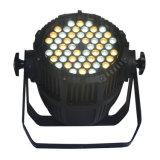 Напольный свет РАВЕНСТВА СИД с 54X3w охлаждает/теплый белый CREE СИД для этапа, зодчества, студии, камеры