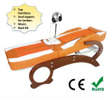 Body pieno Jade Thermal Wooden Massage Table con Tens Therapy