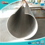Pipe soudée par TP304 d'acier inoxydable d'ASTM A249