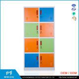Opslag van de Kasten van het Metaal van China Mingxiu de Kleurrijke de Kast van het Staal van Kabinetten/8 Deuren